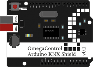 First draft of Arduino KNX shield