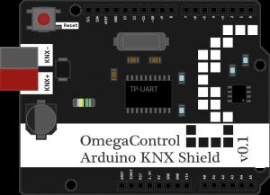 First draft of Arduino KNX shield